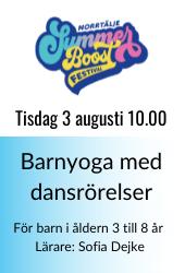 Barnyoga summer boost